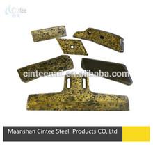 Hard-faced tungsten carbide wear parts,Teka concrete mixer blades