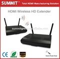 hdmi 1080p de datos inalámbrico transmisor y el receptor ir con mando a distancia