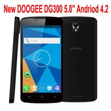 New 5.0'' DOOGEE DG300 Android 4.2 MTK6582 Dual Core Dual SIM 3G Smartphone 4G ROM 1G RAM