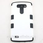 Premium matte hard soft silicon phone case for lg g3