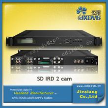 Digital Headend system decoder card sharing satellite receivers/ IPTV Receiver
