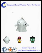 Halloween Festival Promotion Item Eye popper soft pvc keychain