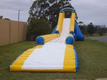Hot selling inflatable slip and slide for people