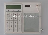 8 Digits Erasable Note Marker Desktop Solar Calculator/promotiona calculator