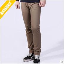 high quality men khaki trousers mens informal pant trousers