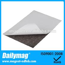 UV Coating Neodymium Rubber Magnet with Adhesive
