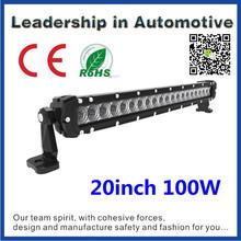 NSSC life time warranty 12v waterproof led light bar 20inch 5w cree 100w
