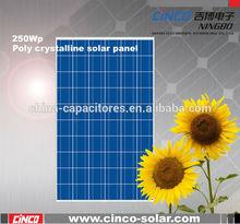 alibaba stock price solar panel, cheap 250 watt photovoltaic solar panel from china