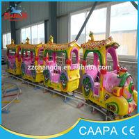 2014 new amusement park ride elephant electric miniature trains for sale
