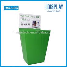 high quality store retail cardboard flash drive dump bin displays stand