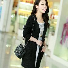 NZ4093 korean style autumn women sweaters latest design cotton coats fashion new knitwear