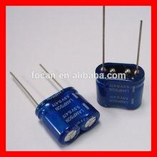 columnar 5.5V 47F Super capacitor with Low ESR,high power