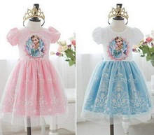 Disny Frozen girls dresses Cute frozen dress little girl dress