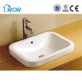 lavabo in ceramica bagno lavabo rettangolare lavabo sanitari cina