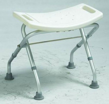 shower chair folding with height adjustable