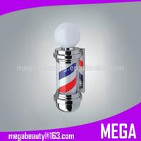 Barber Pole Salon Sign Light