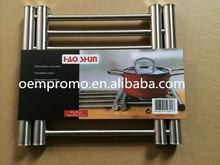 Extensible stainless steel hot pot mat, Metal Pot Pad for Kitchen