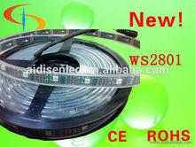 programmable ws2801 rgb led pixel strip