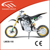 Off road dirt bike with vertical engine by kick starter