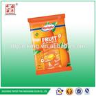 Flexible plastic film for sugar packaging printed food bag