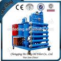 fácil para el control de la tecnología avanzada de aceite del transformador planta de deshidratación