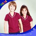 Internacional uniforme da escola primária projeto para meninos e meninas
