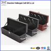2014 New Dedisgn High Quality leather wine bottle carrier