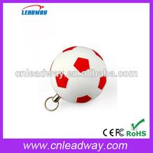 pvc memory stick bulk cheap football memory flash mini usb pen manufacturer with logo print for promotional gift 128MB to 32GB
