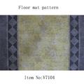 Suelo de pvc rollo de alfombra de fácil cuidado no- deslizamiento de espuma lavable alfombras al por mayor