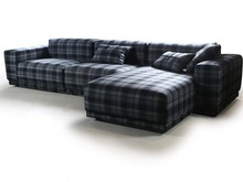 Divany Furniture modern living room sofa purple sectional sofa