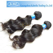 Body wave 100% human peruvian virgin hair,mini elastic hair bands