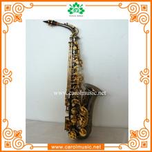 AS009 Pearl Black Colorful Alto Sax