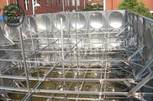 EURO UN certificate 150CBM stainless steel water storage tank