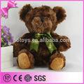 Fett brushy teddybär gefüllt benutzerdefinierte spielzeug für den Verkauf