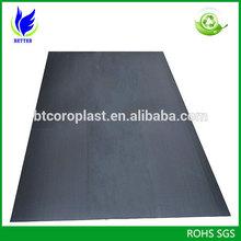 Best price 3mm PP Corflute Floor Protection Board in black