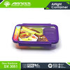 Arniss hot selling kids devided stackable food container lunch box