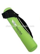 portable neoprene 3 three beer can cooler sling holder bag