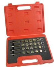 Oil Pan Thread Repair Tool Kit Oil Sump Drain Plug Thread Repair Set