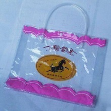 new quality clear vinyl pvc shopping handle bags