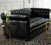 Light black leather dubai sofa, living furniture sofa SF-2831