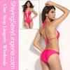 Rosy Push-up Triangle Teddy hot sexi photo image Swimwear
