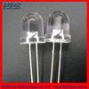 high voltage 12v 5mm ultra bright white round led diode light