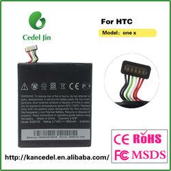 3.7v 1800mah li-ion battery For HTC One X battery New orginal battery