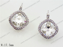 Exotic quartz gemstone Exotic earring dangle fashion