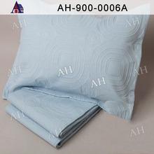 Cheap Ultrasonic Flower-Pattern Light Blue Quilt