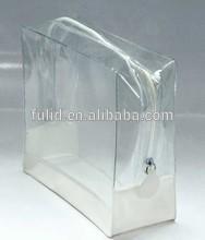 new quality clear vinyl pvc shopping zipper bags