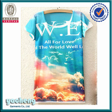 2014 ladies tops latest design fashion sublimation fat women clothes own factory cheap wholesale high quality ladies clothes