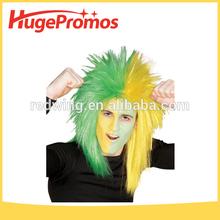 Custom Fans wigs football fans wigs South Africa Fan Wigs for Promotion