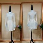 Latest Fashion Apricot Peter Pan Skater Women Fancy Dress