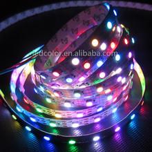 5050 Epistar 144 led strip ws2812 ws2812b pixel strip